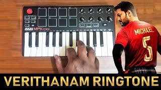 Bigil - Verithanam Ringtone By Raj Bharath   Download Link In Description