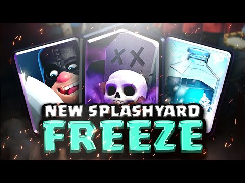 SPLASHYARD IS BACK! EXECUTIONER GRAVEYARD SO STRONG! | Clash Royale