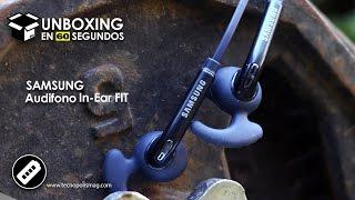 Unboxing en 60 segundos Audifono Samsung In Ear FIT - Excelente para Atletas