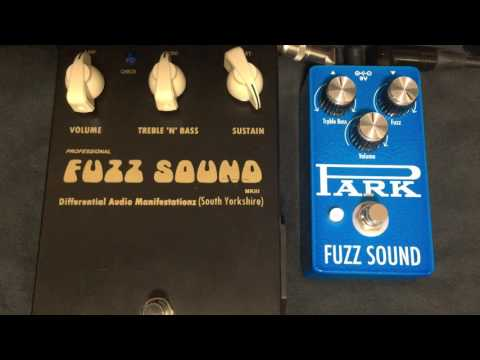 EarthQuaker Devices Park Fuzz Sound vs D.A.M Fuzz Sound