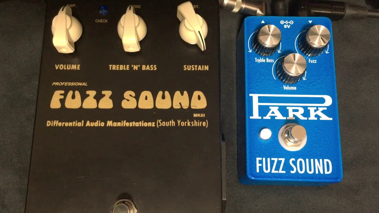 earthquaker devices park fuzz sound vs d a m fuzz sound youtube. Black Bedroom Furniture Sets. Home Design Ideas