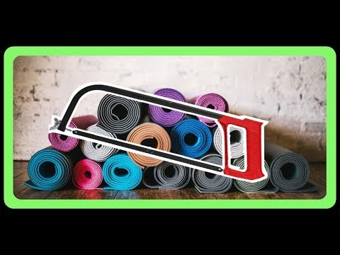 How to Re-use Yoga Mats - Life Hacks