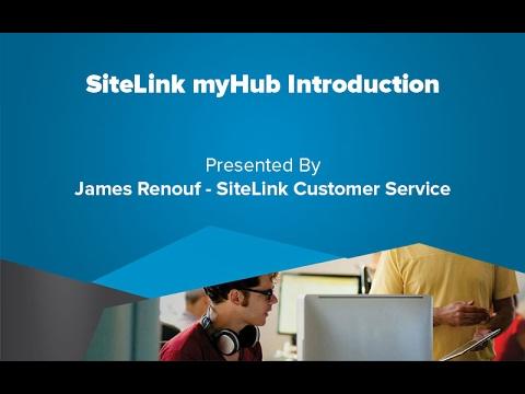 SiteLink MyHub Introduction - SiteLink Training Video