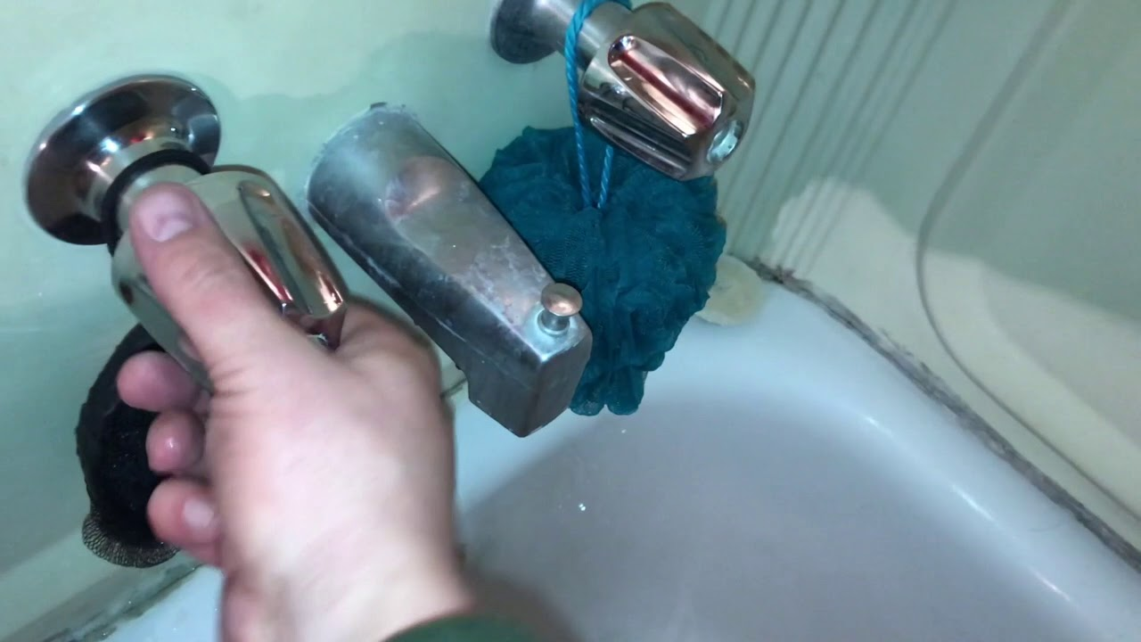 Bathtub Faucet Stem and Seat Replacement - YouTube