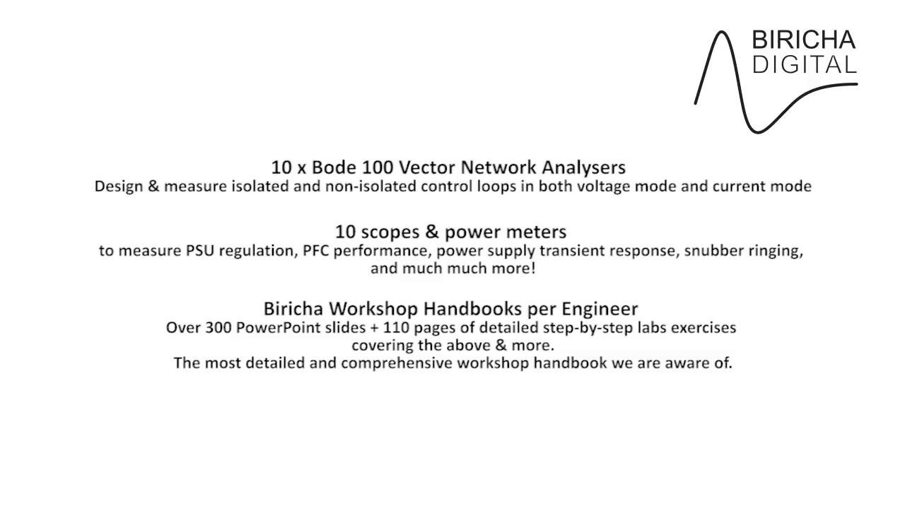 Analog Power Supply Design Workshop - Biricha - Biricha Digital