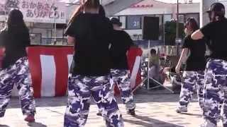 説明2014.5.11 東海大学前にて 粋な祭り!に、 サンシャインキ...