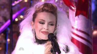 Kylie Minogue,   Santa Baby   live Christmas in Rockefeller Center 2010 HD