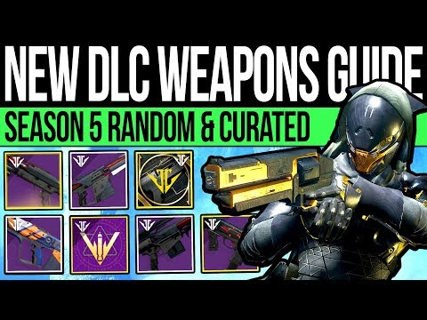 Destiny 2 | ALL ARMORY WEAPONS & CURATED ROLLS! Forge Perk Rolls, Curated Drops & How to Get Them