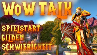 WoW Classic 1/5 | Spielstart - Gilden - Schwierigkeit | Talk Deutsch thumbnail
