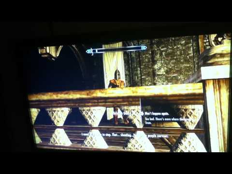 Cleaning Up the Jarls Table In Whiterun (Skyrim)