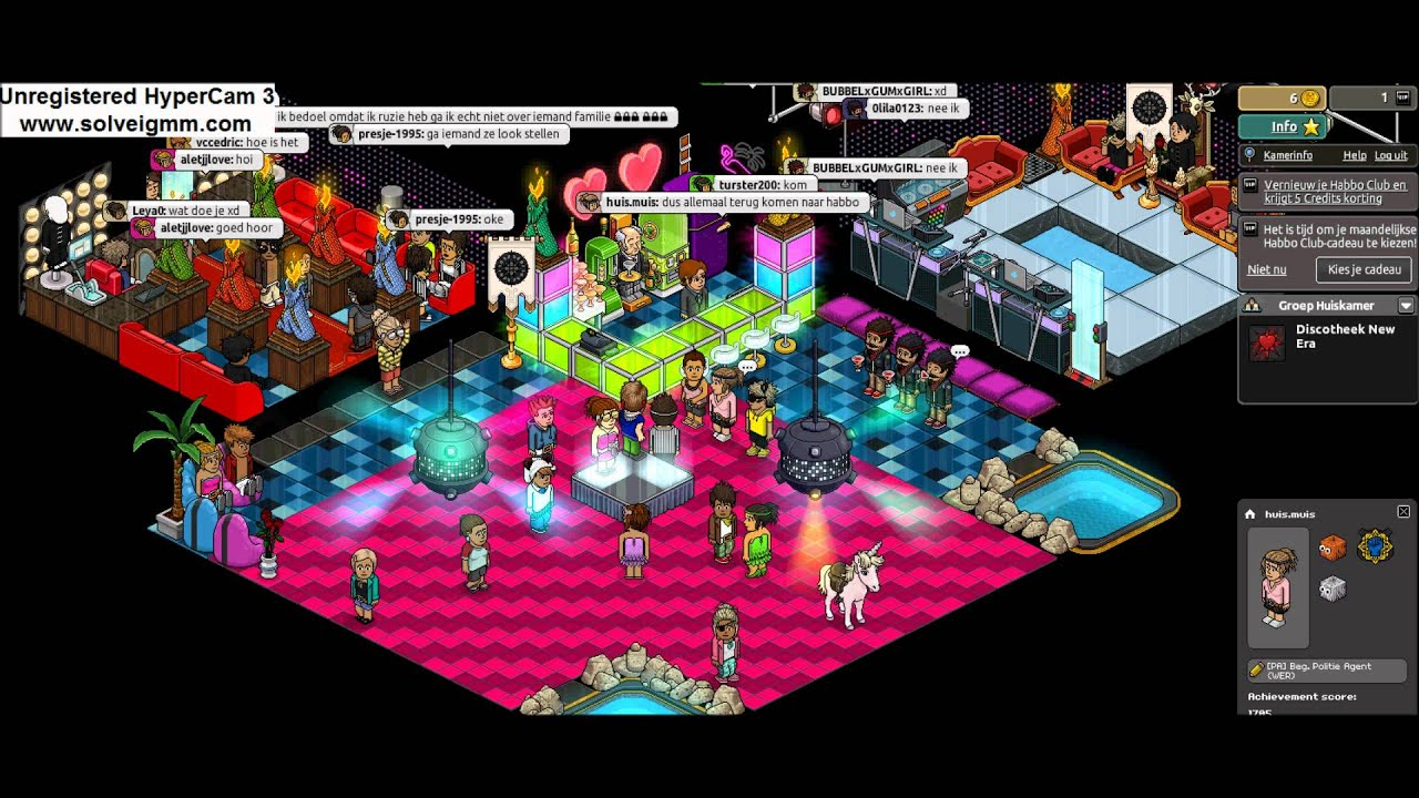 habbo disco - YouTube