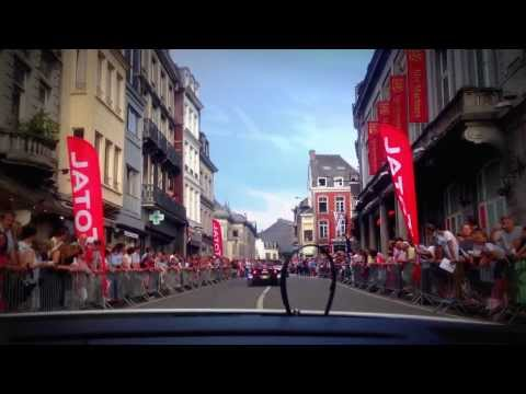 ARC Bratislava on BES Total 24 hours of Spa 2013. Car parade/ Part 1