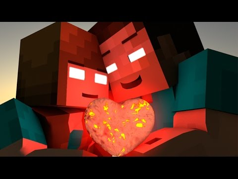 Thumbnail: If HEROBRINE Found A GIRLFRIEND - MINECRAFT ANIMATION (SATISFY YOUR GIRLFRIEND CHALLENGE)