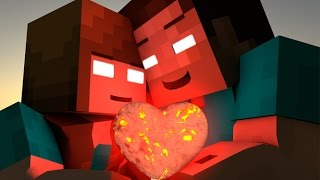 If HEROBRINE Found A GIRLFRIEND - MINECRAFT ANIMATION (SATISFY YOUR GIRLFRIEND CHALLENGE)