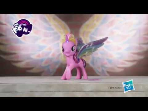 d210d1b8f8e My Little Pony Rainbow Wings Twilight Sparkle Pony Figure with Lights