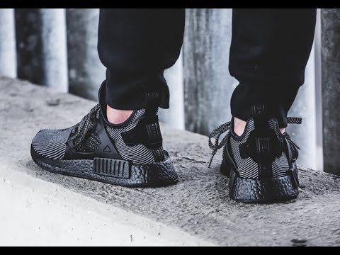 "120f4ee57 Adidas NMD XR1 Primeknit ""Triple Black"" S32211 Review - YouTube"