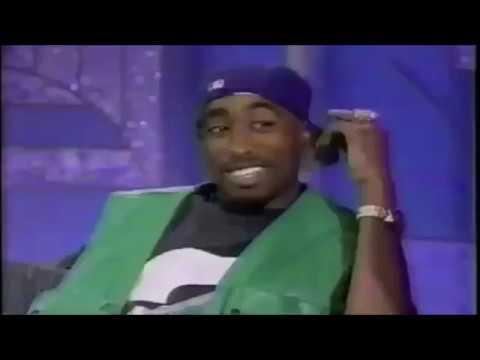 2Pac very high on The Arsenio Hall Show 1993