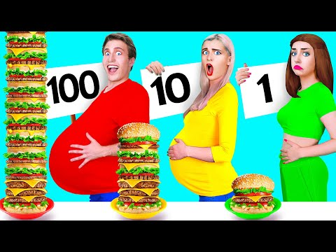100 LAYERS FOOD CHALLENGE #5