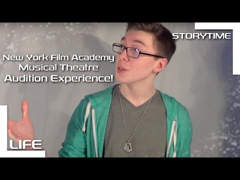 My New York Film Academy Audition Experience  Musical Theatre