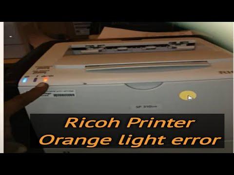Ricoh Sp 310Dn Reset
