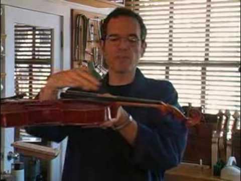 Violin Maker Guy Rabut On Buzz Prevention