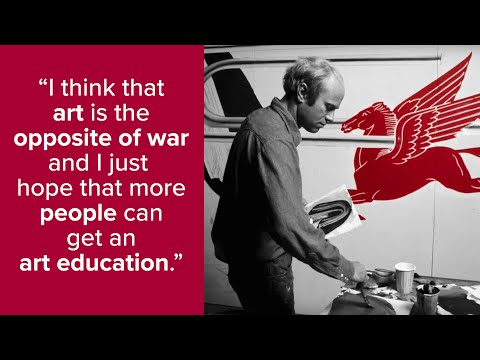 James Rosenquist on the Art Students League of New York