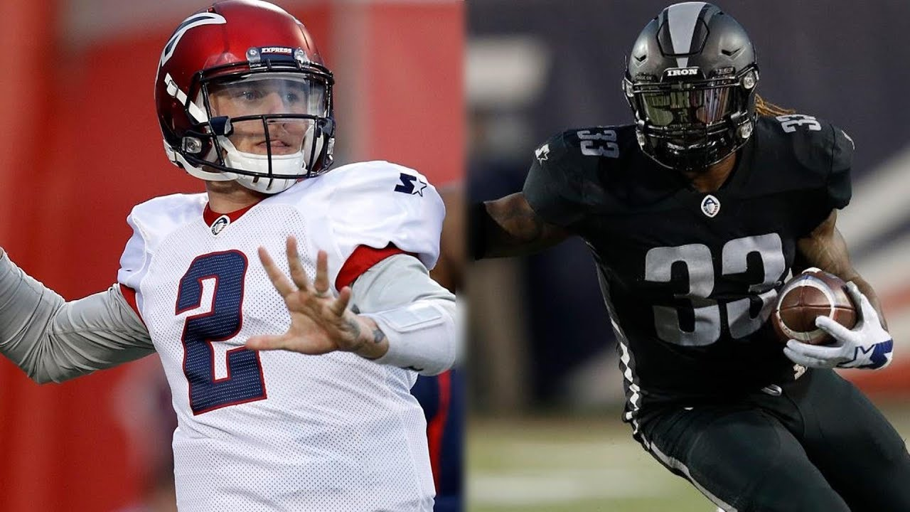 Birmingham Iron vs. Memphis Express | AAF Week 7 Game Highlights