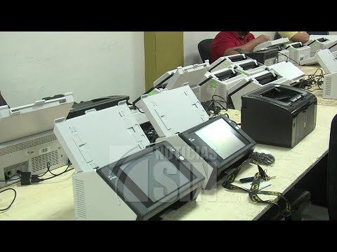 Clonación de escáneres se hace en presencia de representantes de IFES y la OEA
