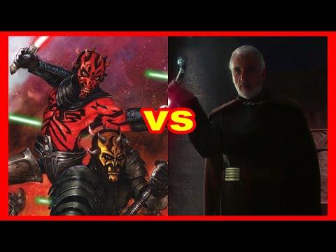 Star Wars Versus Series: Darth Maul and Savage Opress Vs. Count Dooku
