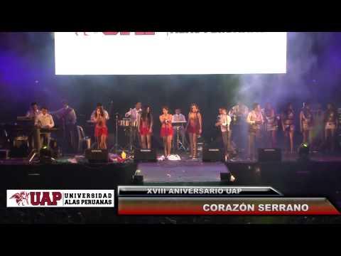 XVIII ANIVERSARIO UAP 2014   CORAZÓN SERRANO 3