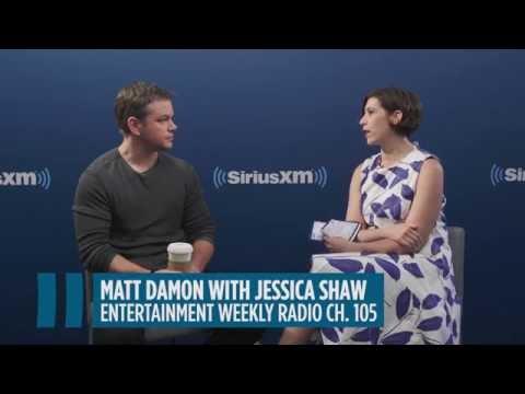 "Matt Damon: ""I Would Do Any Movie Chris Nolan Directed"" // SiriusXM // Entertainment Weekly"