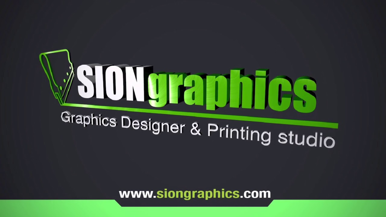 Business card SIONGRAPHICS graphics design and printing