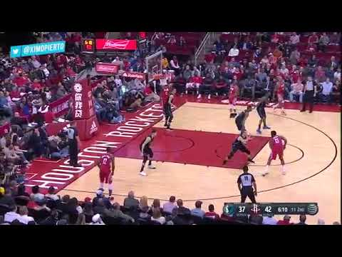 Houston Rockets vs Dallas Mavericks - Full Game Highlights -  Feb 11, 2018