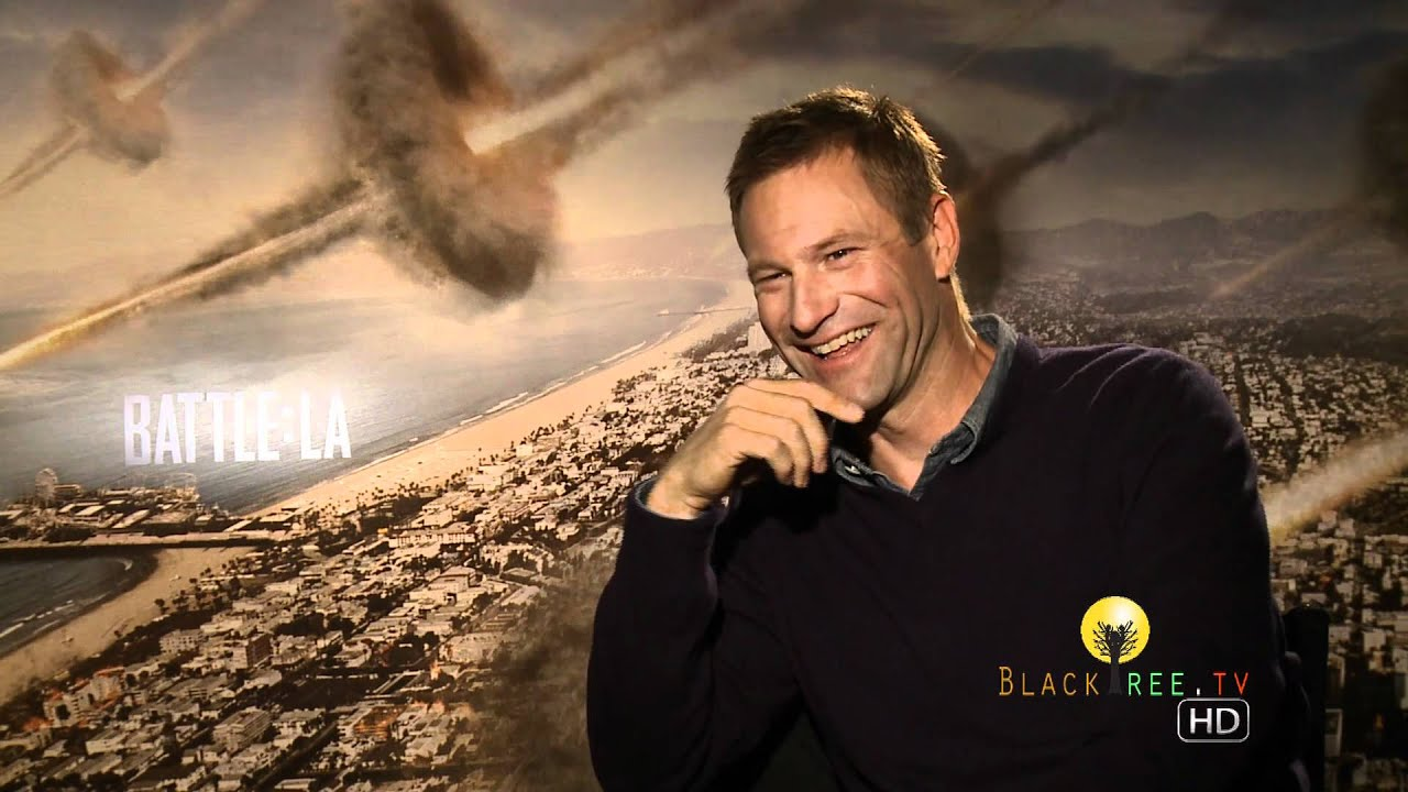 Download Aaron Eckhart talks Battle: Los Angeles (Out on DVD and Blue-Ray)