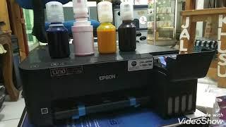 Epson L1110 Di Isi Tinta Sublim (Vlog Toko #1)