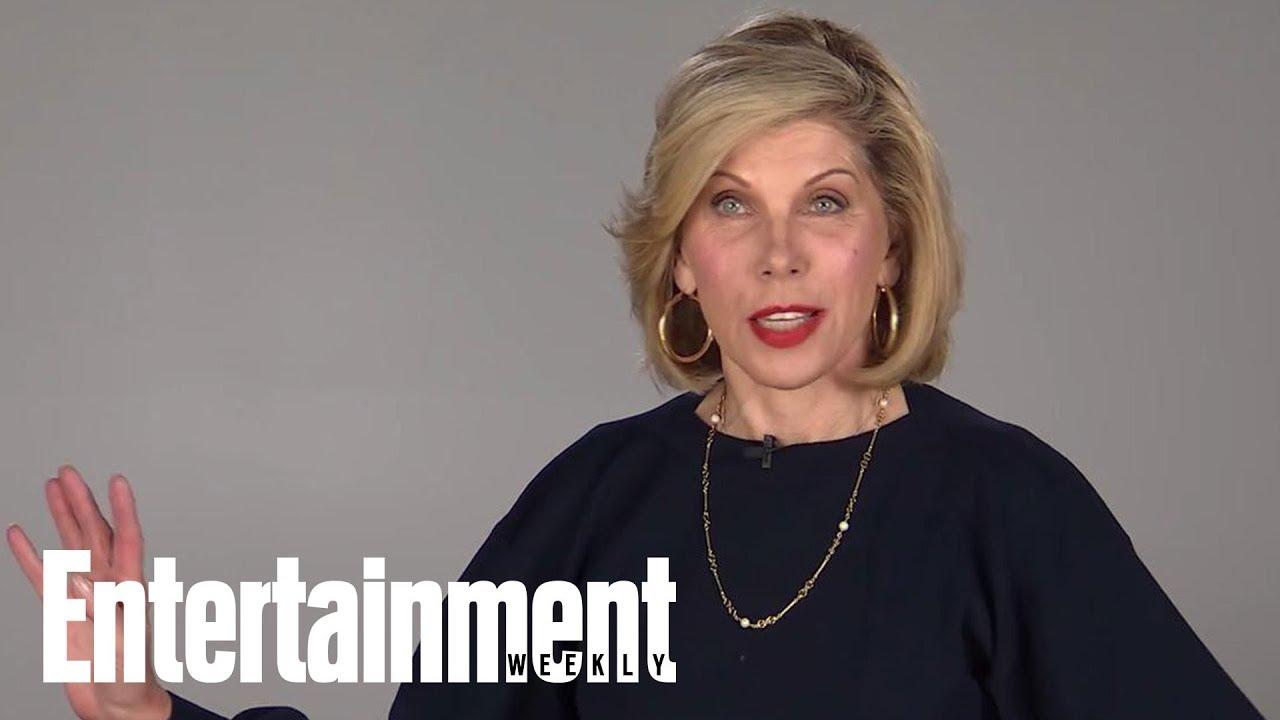 foto de Christine Baranski Dishes On Her Year: 'The Good Fight ' 'Mamma Mia' & More Entertainment
