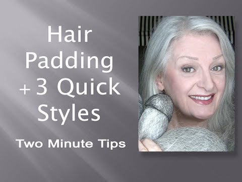 Hair Padding + 3 Fast & Easy Hairstyles for Any Occasion Including Bridal - I