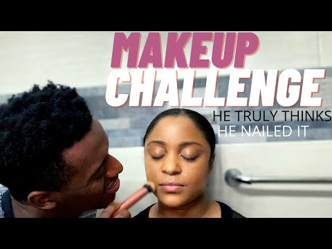 MAKEUP CHALLENGE | HE TRULY THINKS HE NAILED IT
