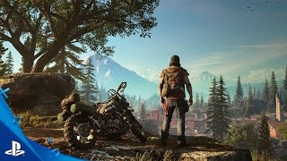 Days Gone - E3 2016 Gameplay Demo | PS4(https://www.playstation.com/en-us/games/days-gone-ps4/ Check out the Days Gone gameplay demo from PlayStation's E3 2016 conference. May contain ..., 2016-06-14T01:19:44.000Z)