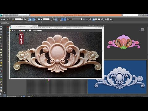 3ds Max - Tutorial - 3D MODEL CLASSIC DECOR