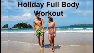 Holiday pump workout