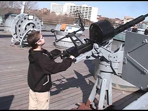A tour of the Battleship North Carolina in Wilmington, NC