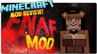 MINECRAFT MOD FIVE NIGHTS AT FREDDY'S 4 MOD 1.8 | FIVE NIGHTS AT ANIME | FREDDY ANIME CON TETAS