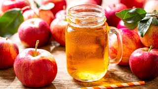 How To Make Healthy Apple Juice - Home Cooking Lifestyle