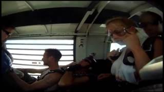 Porn star Jesse Jane... Boobies falling from the sky! Flight of the TaTas - Vegas VIP Party