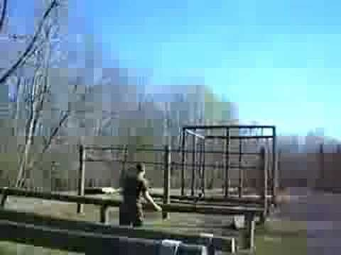 Marine Corps Obstacle Course - YouTube