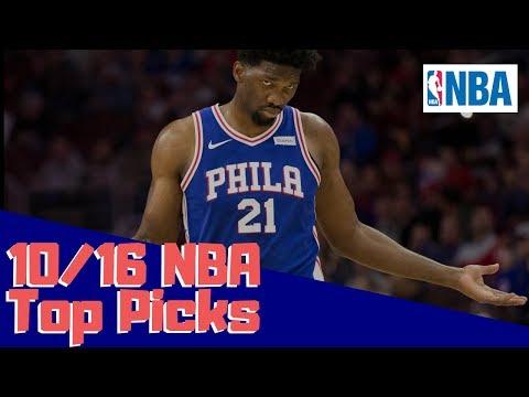 NBA DFS Top Picks DraftKings 10/16/18 -...