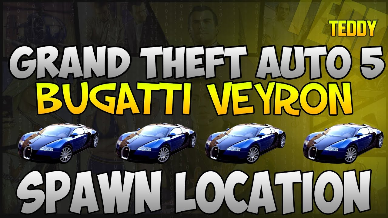 gta 5 online how to get a free super car online bugatti veyron spawn location gta v youtube. Black Bedroom Furniture Sets. Home Design Ideas
