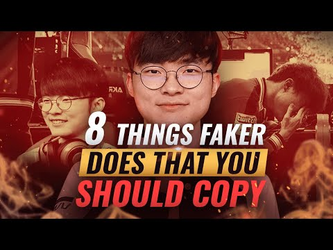 8 Things Faker Does That You Probably Don&39;t - League of Legends Season 10