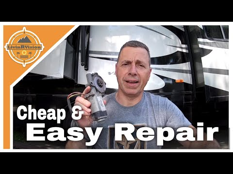 DIY RV Step Motor Replacement | Full Time RV | LivinRVision! (EP 36)